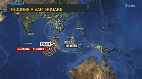 earthquake warning indonesia powerful shallow earthquake hits off sumatra in indonesia
