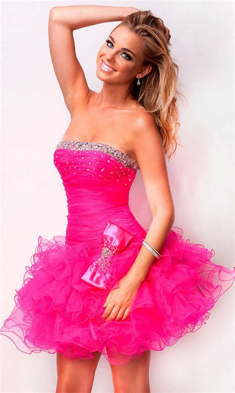 short prom dresses dressed up