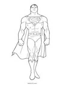 dibujo superman colorear az dibujos colorear
