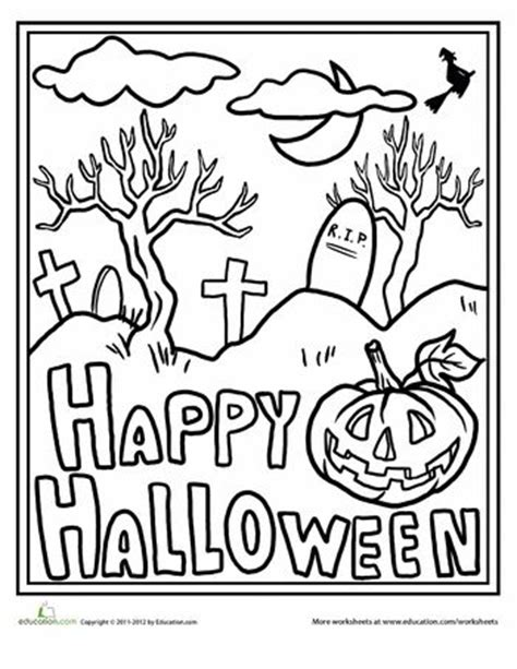 colouring pages happy halloween 537 best halloween coloring pages images on pinterest