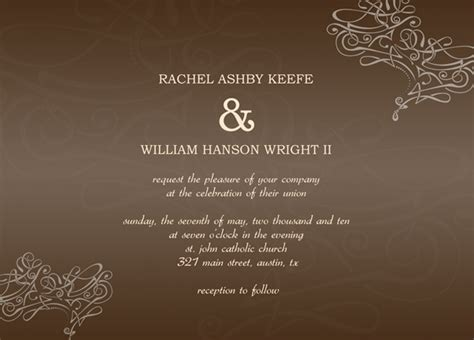 8 fab free wedding invitation templates adobe illustrator