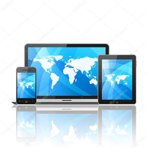 mobile tablet pc tablet pc mobile phone notebook stock photo 169 nik