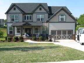 painting your home modern exterior paint colors for houses grey trim white fence and dark grey