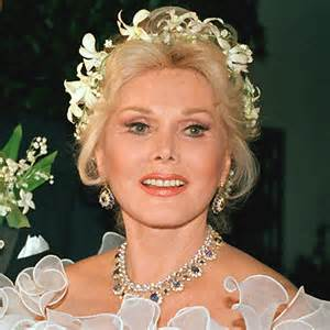 zsazss gabor hair style 1986 zsa zsa gabor s changing looks instyle com
