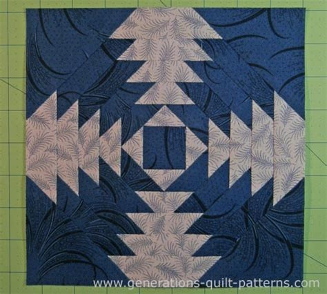 Pineapple Patchwork Pattern - free pineapple quilt patterns illustrated step by step
