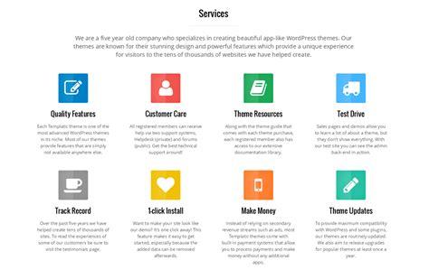 layout of wordpress page landing page wordpress theme newest from templatic