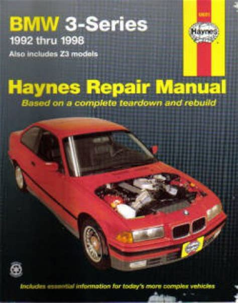 what is the best auto repair manual 1998 mercedes benz c class regenerative braking haynes bmw 3 series 1992 1998 auto repair manual