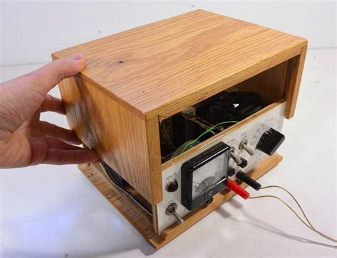 woodwork supply home made benchtop power supply
