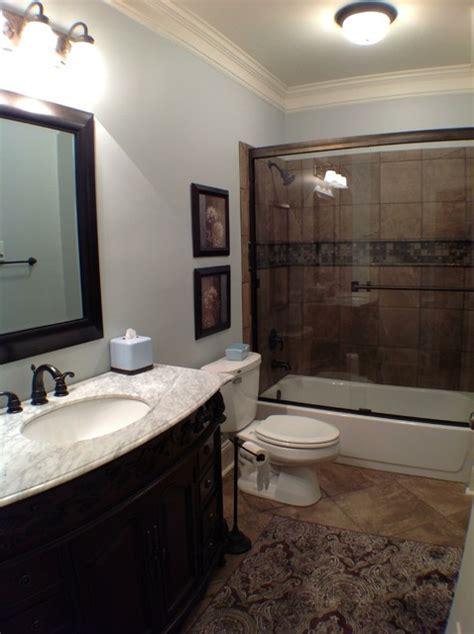 kennesaw basement traditional bathroom atlanta by