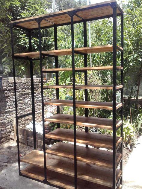 muebles de madera y hierro muebles de madera y hierro mueble auxiliar forja