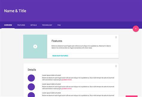 material design lite header fresh resources for web developers august 2015 vab
