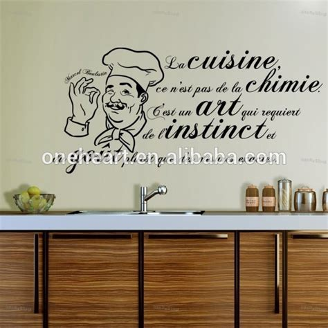 proverbe cuisine humour amovible vinyle accueil wall sticker cuisine wall sticker