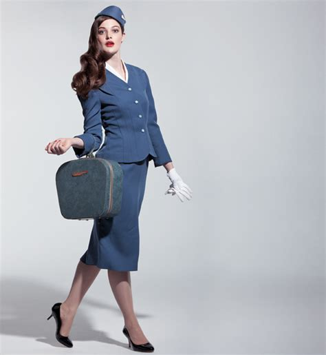Flight Attendant Fashion by August 2012 Haute Heels