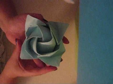 origami rose tutorial youtube origami rose tutorial youtube