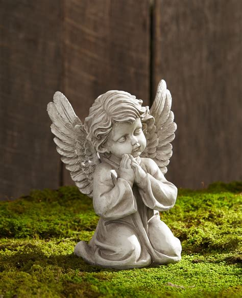 praying cherub statue outdoor living outdoor decor