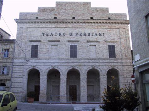 teatro persiani recanati musei