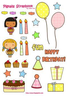 printable birthday stickers 1000 images about happy birthday stickers on pinterest
