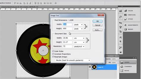 label design photoshop tutorial how to design cd label in photoshop cs5 youtube