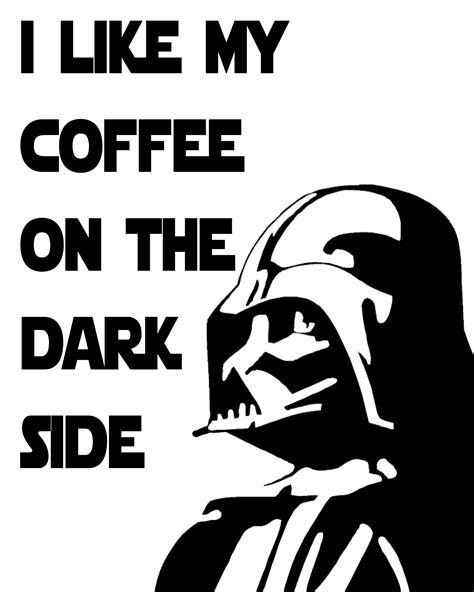 Free Star Wars Printables with a Coffee Theme! - Some of