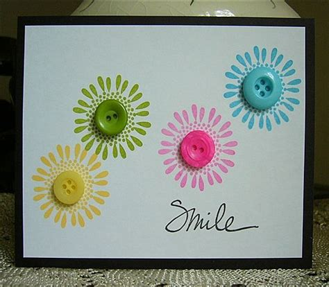 Simple Handmade Birthday Cards - handmade greeting card clean and simple design