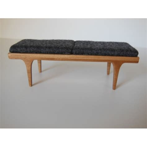 benches with cushions modern dollhouse furniture m112 pods nolan bench in