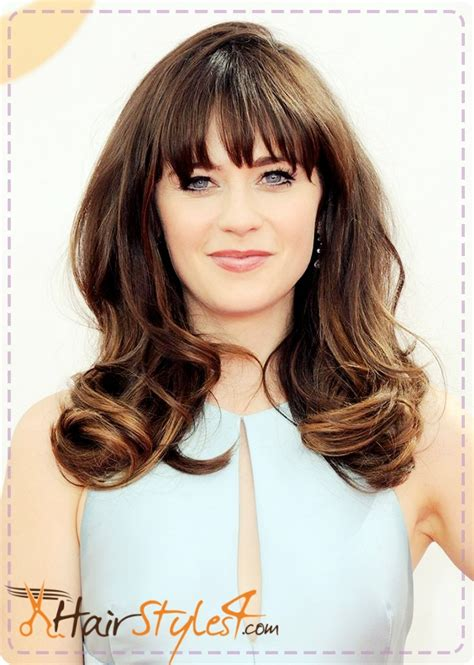 Zooey Deschanel Hairstyle by Zooey Deschanel Haircut Hairstyles4