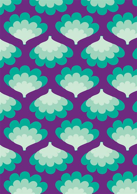 aqua patterns soul seventy menta retro pattern aqua turqouise teal