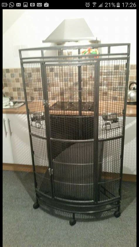 large for sale large corner parrot cage for sale castleford west