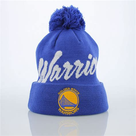 golden state warriors knit hat mitchell ness golden state warriors knit hat accessory