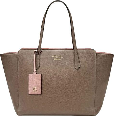 gucci swing bag authentic gucci swing medium grey pink tote bag at