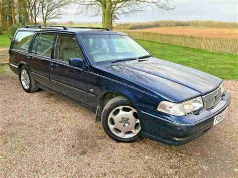 p reg volvo     estate blue auto petrol  owners long