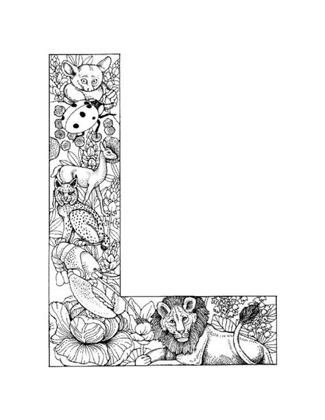 free coloring pages of l adult