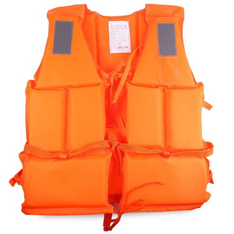 boat life jacket professional adult life jacket vest with whistle for boat