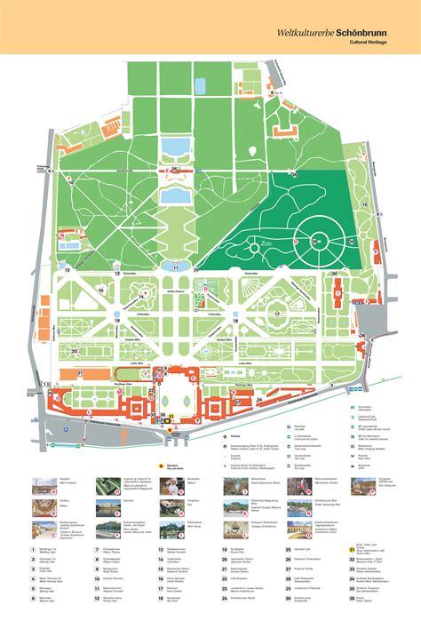 Parc Imperial Floor Plan grand tour gratuit dans le ch 226 teau de sch 246 nbrunn vienna pass