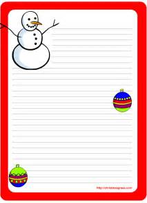 Holiday Letter Template Free Free Printable Christmas And Holiday Stationery