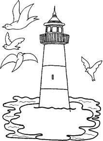 lighthouse coloring pages printable lighthouse coloring pages coloring me