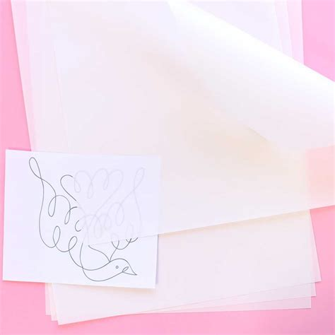 How To Make Tracing Paper - heavy duty tracing paper for pattern sublime