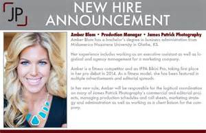 New Hire Announcement Template by New Team Members Photography