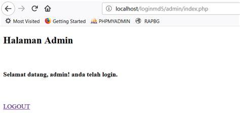 membuat login dengan php dan mysql pdf membuat login dengan php dan mysqli menggunakan md5