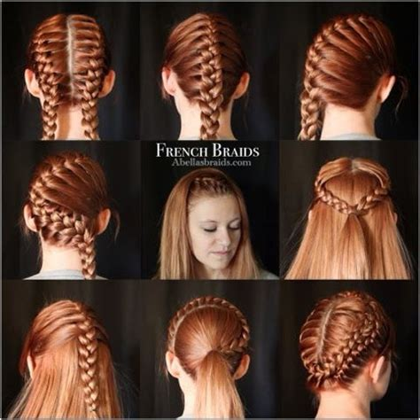 different styles or ways to fix human hair 25 best ideas about softball braids on pinterest