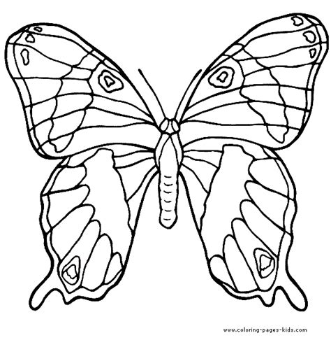 complicated butterfly coloring pages complicated butterfly color page