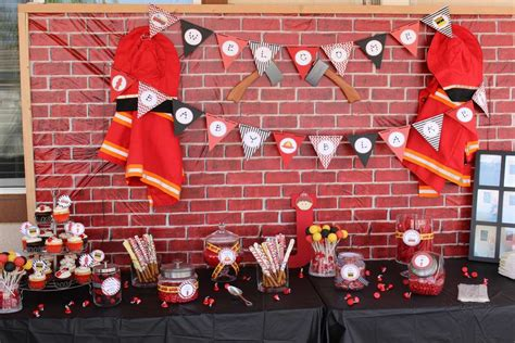 Firefighter Baby Shower by Firefighter Baby Shower Ideas Photo 21 Of 22