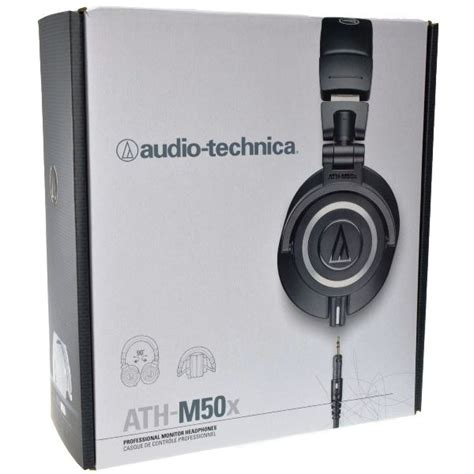 Audio Technica Ath M50x Professional Monitor Headphones Merah audio technica ath m50x professional foldable studio monitor headphones black 4961310125431 ebay