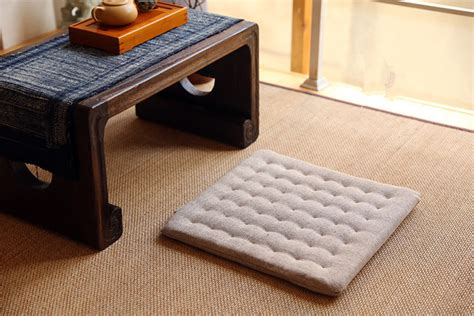 pavimento giapponese 2pcs lot zen cushion zabuton zafu square 40cm floor