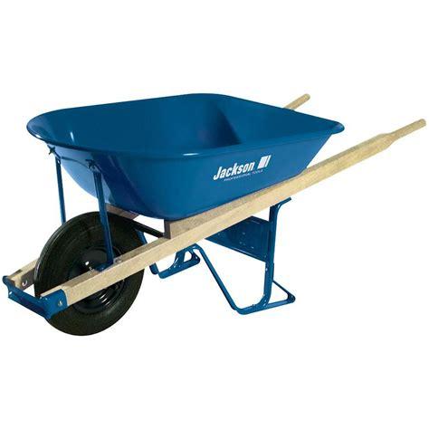 lifetime 6 5 cu ft plastic wheelbarrow 65034 the home