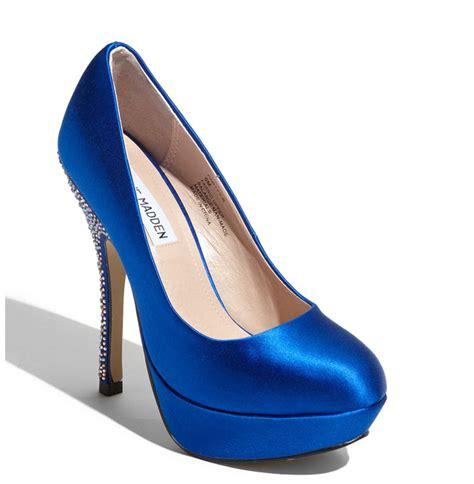 blue platform wedding shoes onewed