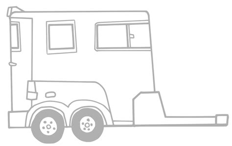 coloring pages horse trailer image gallery horse trailer coloring pages