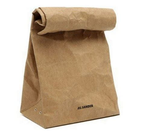 Of Paper Bags - brown paperbag purse costs a whole lot of green paper