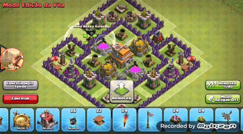 layout atualizado cv 7 clash of clans layout de farm cv 7 atualizado youtube