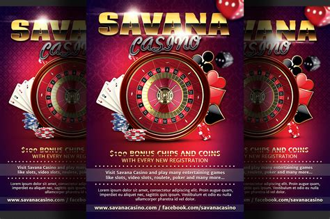 Casino Ad Flyer Template Flyer Templates On Creative Market Template Ads